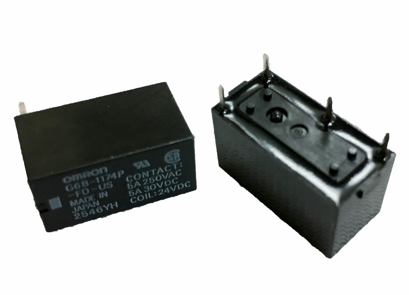 OMRON G6B-1174P-FD-US繼電器 DC24V 5A